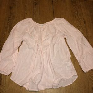 NWOT Old Navy peasant top
